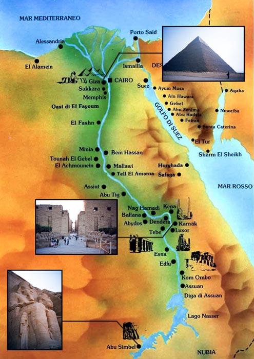 Cartina Turistica Egitto.Notizie Bei Go
